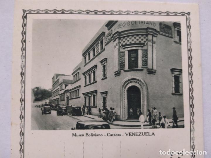 Sellos: VENEZUELA-CARACAS-MUSEO BOLIVIANO-ENTERO POSTAL-VER REVERSO-(61.511) - Foto 2 - 174101753