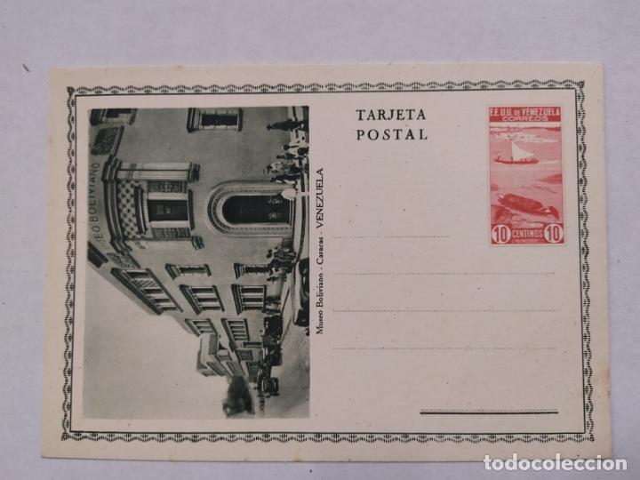 VENEZUELA-CARACAS-MUSEO BOLIVIANO-ENTERO POSTAL-VER REVERSO-(61.511) (Sellos - Extranjero - Entero postales)