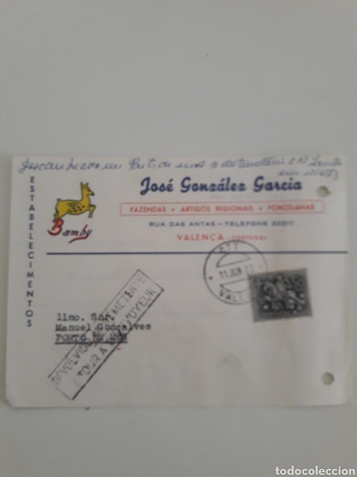 BILLETE POSTAL TARJETA COMERCIAL (Sellos - Extranjero - Entero postales)
