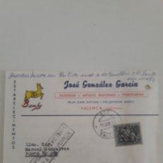 Sellos: BILLETE POSTAL TARJETA COMERCIAL. Lote 176246874