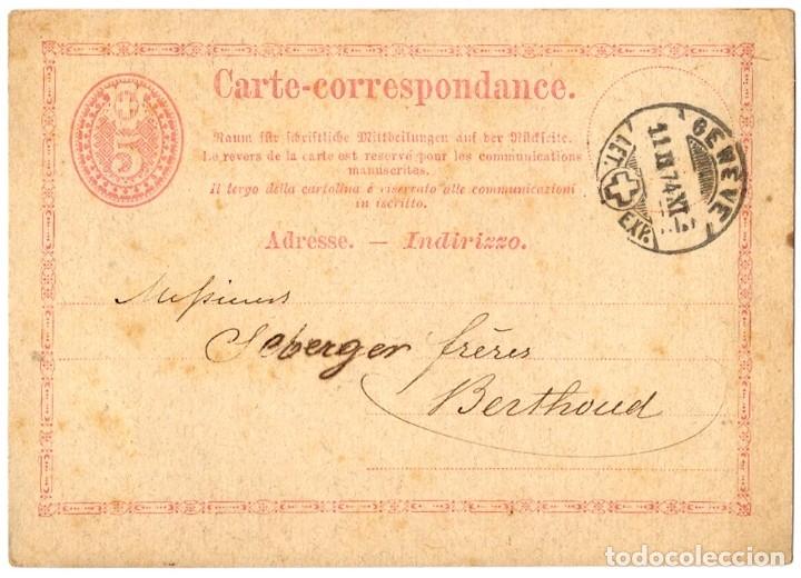 Sellos: INCREÍBLE COLECCIÓN DE 19 ENTEROS POSTALES DIVERSOS PAÍSES, DESDE 1877 - Foto 23 - 178640256
