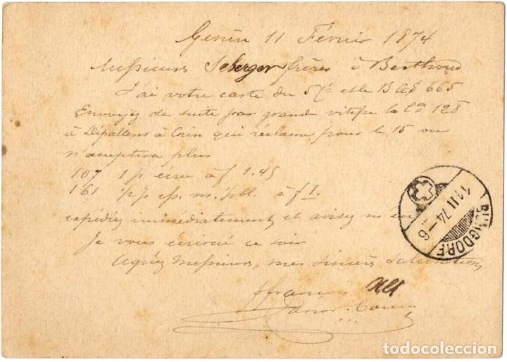 Sellos: INCREÍBLE COLECCIÓN DE 19 ENTEROS POSTALES DIVERSOS PAÍSES, DESDE 1877 - Foto 24 - 178640256