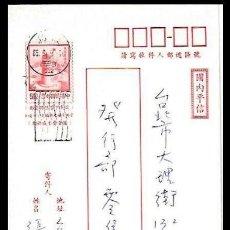 Sellos: TAIWAN ENTERO POSTAL FARO PITOU-CHIAO. Lote 182382998