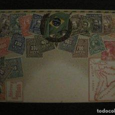 Sellos: BRASIL-ENTERO POSTAL-VER FOTOS-(65.720). Lote 189780848