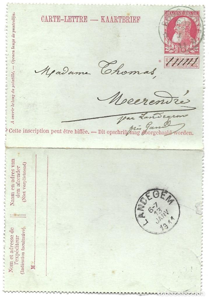 Sellos: INCREÍBLE ÁLBUM CON 135 ENTEROS POSTALES CIRCULADOS DE PAÍSES EUROPEOS DE 1877 HASTA PRINC. SIGLO XX - Foto 2 - 190057928