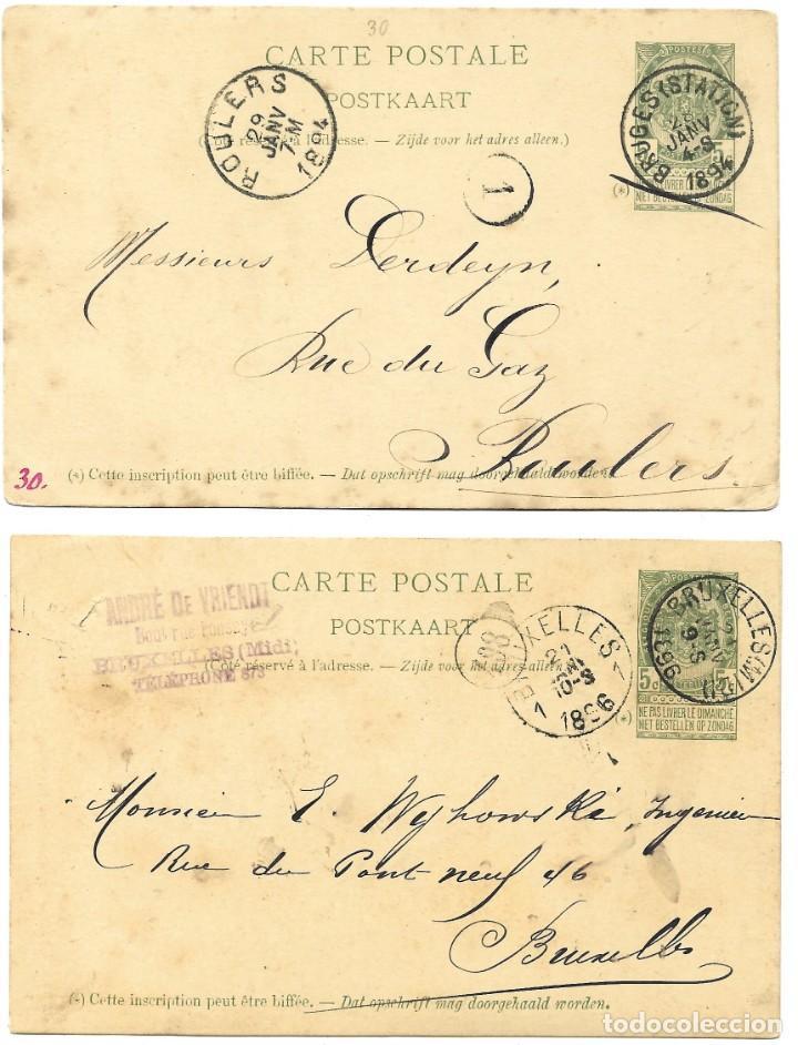 Sellos: INCREÍBLE ÁLBUM CON 135 ENTEROS POSTALES CIRCULADOS DE PAÍSES EUROPEOS DE 1877 HASTA PRINC. SIGLO XX - Foto 6 - 190057928