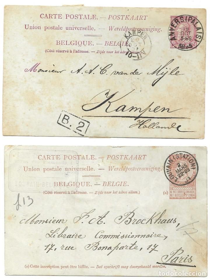 Sellos: INCREÍBLE ÁLBUM CON 135 ENTEROS POSTALES CIRCULADOS DE PAÍSES EUROPEOS DE 1877 HASTA PRINC. SIGLO XX - Foto 7 - 190057928