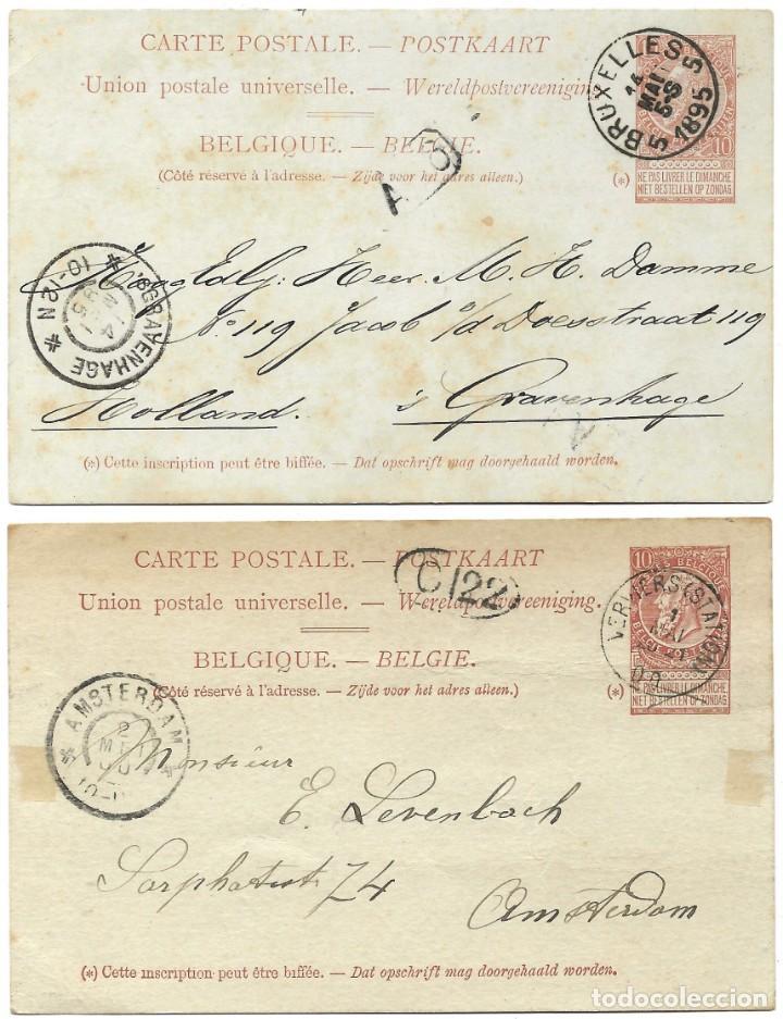Sellos: INCREÍBLE ÁLBUM CON 135 ENTEROS POSTALES CIRCULADOS DE PAÍSES EUROPEOS DE 1877 HASTA PRINC. SIGLO XX - Foto 8 - 190057928