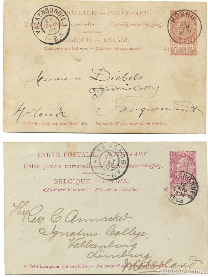 Sellos: INCREÍBLE ÁLBUM CON 135 ENTEROS POSTALES CIRCULADOS DE PAÍSES EUROPEOS DE 1877 HASTA PRINC. SIGLO XX - Foto 10 - 190057928