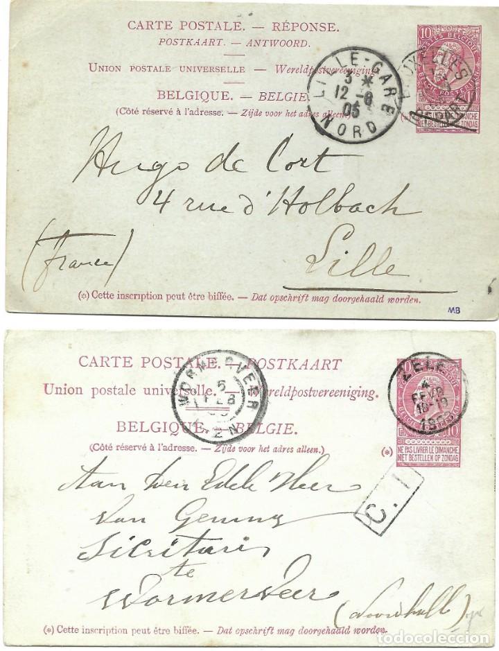 Sellos: INCREÍBLE ÁLBUM CON 135 ENTEROS POSTALES CIRCULADOS DE PAÍSES EUROPEOS DE 1877 HASTA PRINC. SIGLO XX - Foto 11 - 190057928