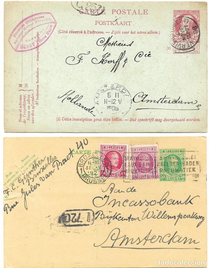 Sellos: INCREÍBLE ÁLBUM CON 135 ENTEROS POSTALES CIRCULADOS DE PAÍSES EUROPEOS DE 1877 HASTA PRINC. SIGLO XX - Foto 12 - 190057928