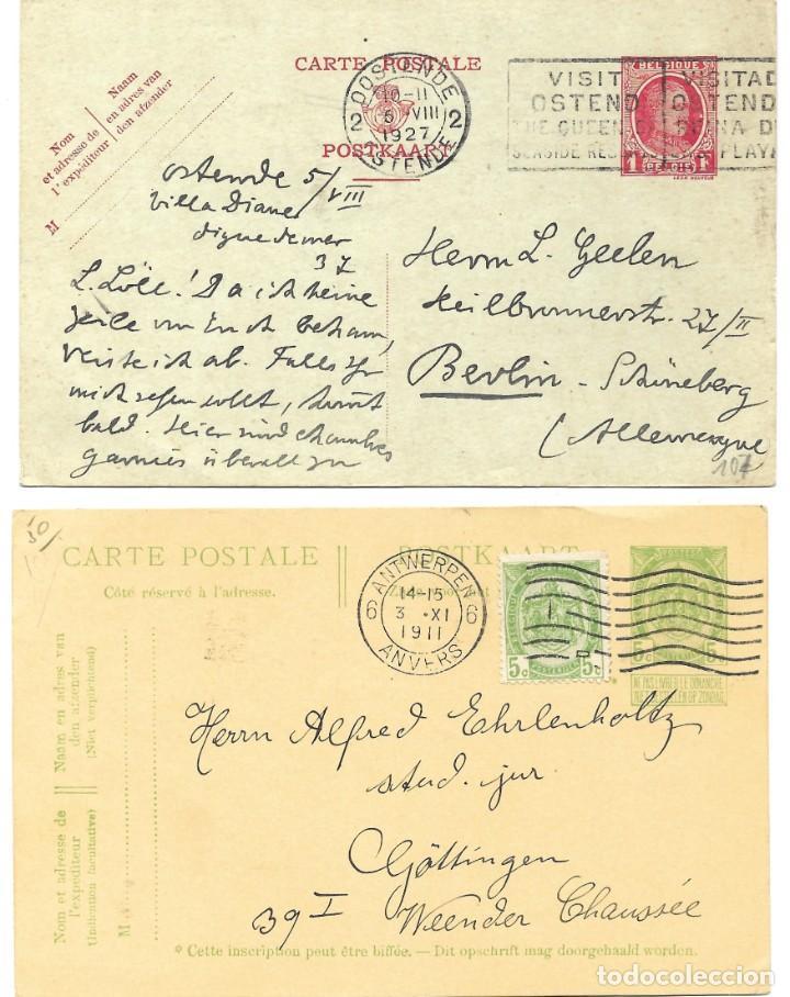 Sellos: INCREÍBLE ÁLBUM CON 135 ENTEROS POSTALES CIRCULADOS DE PAÍSES EUROPEOS DE 1877 HASTA PRINC. SIGLO XX - Foto 13 - 190057928