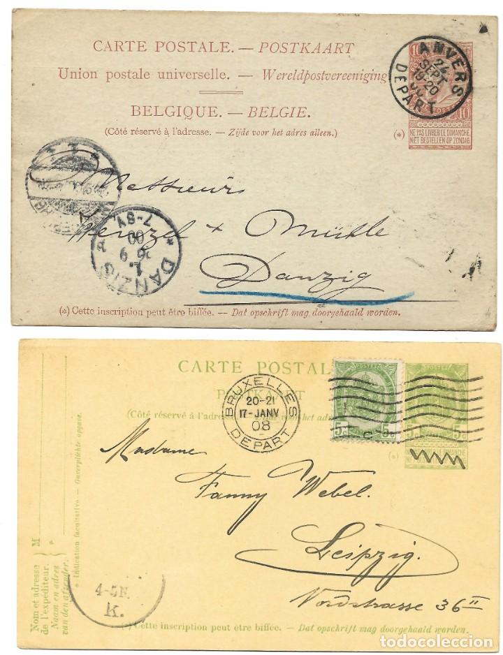 Sellos: INCREÍBLE ÁLBUM CON 135 ENTEROS POSTALES CIRCULADOS DE PAÍSES EUROPEOS DE 1877 HASTA PRINC. SIGLO XX - Foto 15 - 190057928