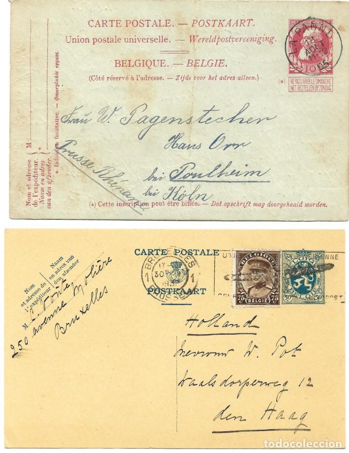 Sellos: INCREÍBLE ÁLBUM CON 135 ENTEROS POSTALES CIRCULADOS DE PAÍSES EUROPEOS DE 1877 HASTA PRINC. SIGLO XX - Foto 18 - 190057928