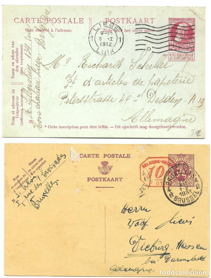 Sellos: INCREÍBLE ÁLBUM CON 135 ENTEROS POSTALES CIRCULADOS DE PAÍSES EUROPEOS DE 1877 HASTA PRINC. SIGLO XX - Foto 19 - 190057928