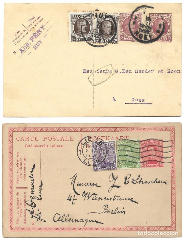 Sellos: INCREÍBLE ÁLBUM CON 135 ENTEROS POSTALES CIRCULADOS DE PAÍSES EUROPEOS DE 1877 HASTA PRINC. SIGLO XX - Foto 20 - 190057928