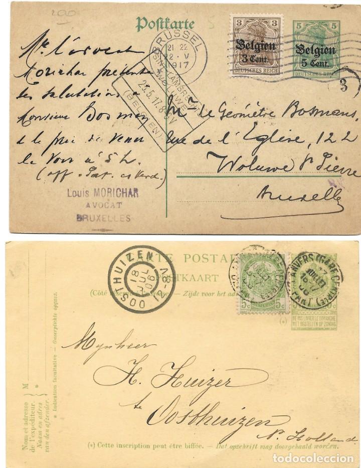 Sellos: INCREÍBLE ÁLBUM CON 135 ENTEROS POSTALES CIRCULADOS DE PAÍSES EUROPEOS DE 1877 HASTA PRINC. SIGLO XX - Foto 21 - 190057928