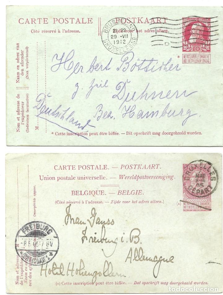Sellos: INCREÍBLE ÁLBUM CON 135 ENTEROS POSTALES CIRCULADOS DE PAÍSES EUROPEOS DE 1877 HASTA PRINC. SIGLO XX - Foto 22 - 190057928