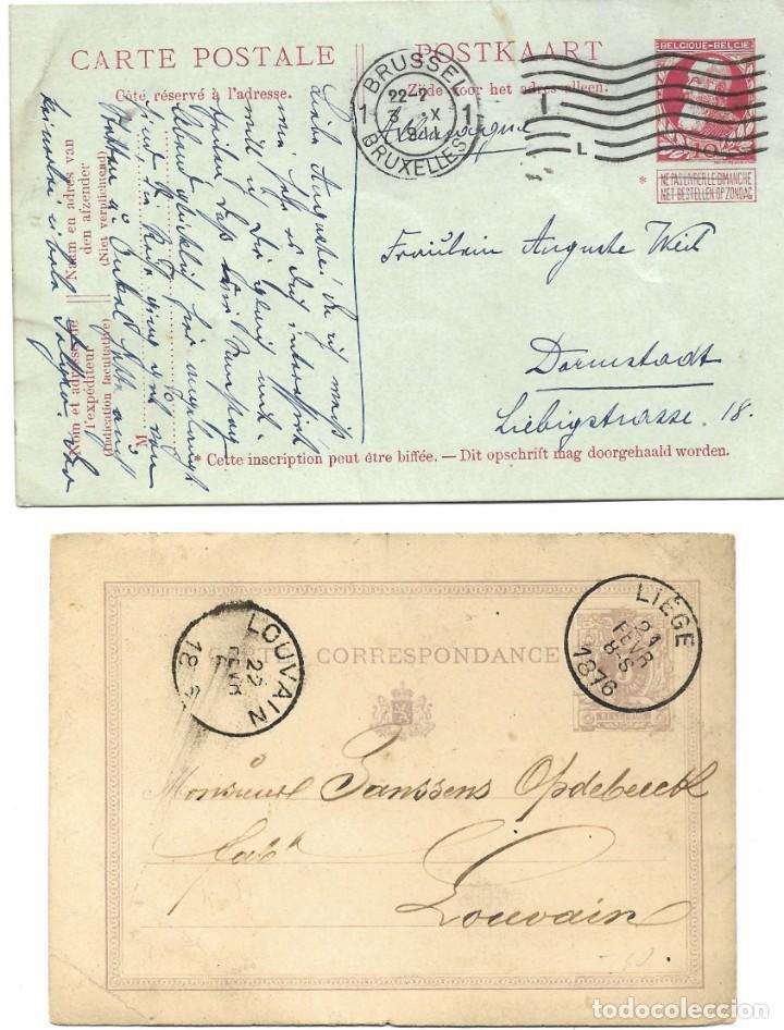 Sellos: INCREÍBLE ÁLBUM CON 135 ENTEROS POSTALES CIRCULADOS DE PAÍSES EUROPEOS DE 1877 HASTA PRINC. SIGLO XX - Foto 23 - 190057928