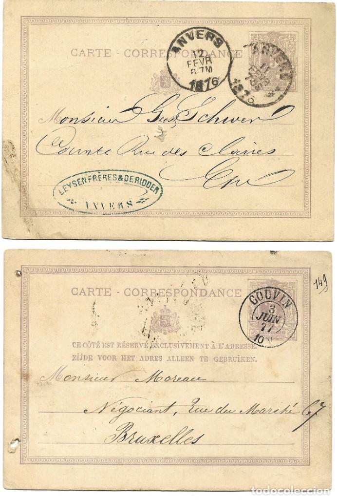 Sellos: INCREÍBLE ÁLBUM CON 135 ENTEROS POSTALES CIRCULADOS DE PAÍSES EUROPEOS DE 1877 HASTA PRINC. SIGLO XX - Foto 26 - 190057928