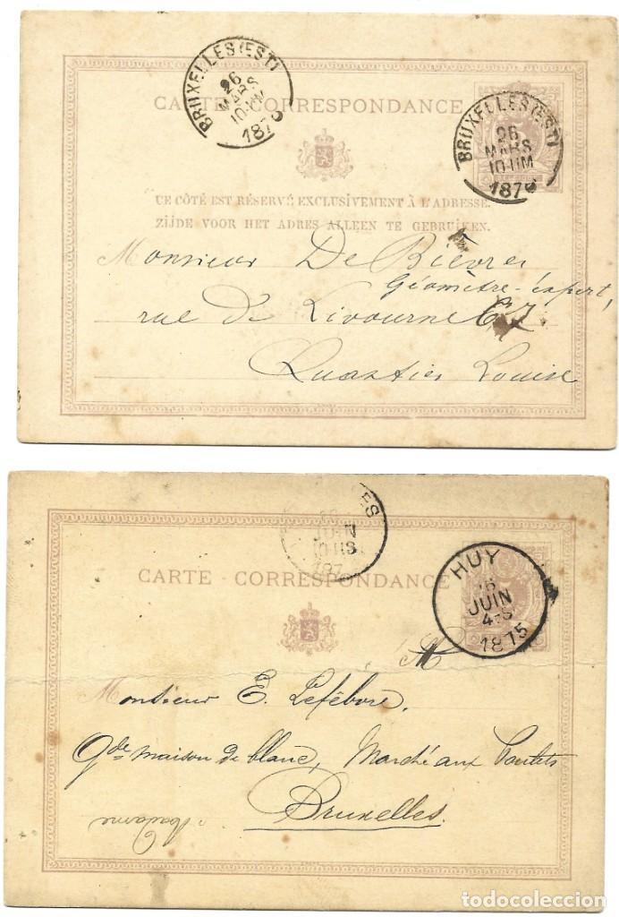 Sellos: INCREÍBLE ÁLBUM CON 135 ENTEROS POSTALES CIRCULADOS DE PAÍSES EUROPEOS DE 1877 HASTA PRINC. SIGLO XX - Foto 27 - 190057928