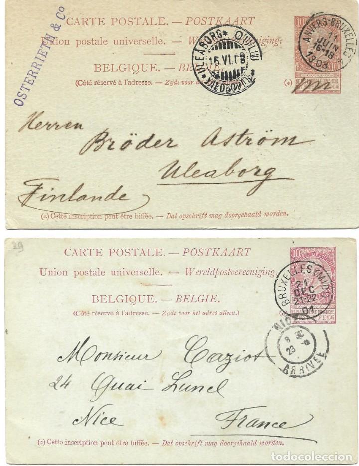 Sellos: INCREÍBLE ÁLBUM CON 135 ENTEROS POSTALES CIRCULADOS DE PAÍSES EUROPEOS DE 1877 HASTA PRINC. SIGLO XX - Foto 28 - 190057928