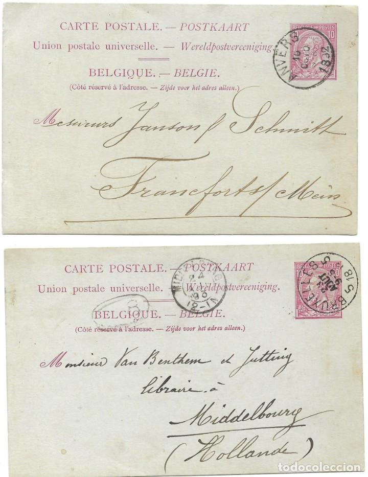 Sellos: INCREÍBLE ÁLBUM CON 135 ENTEROS POSTALES CIRCULADOS DE PAÍSES EUROPEOS DE 1877 HASTA PRINC. SIGLO XX - Foto 32 - 190057928