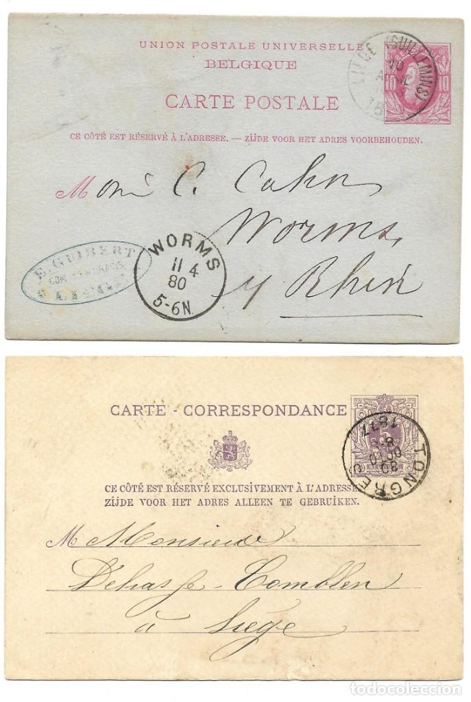 Sellos: INCREÍBLE ÁLBUM CON 135 ENTEROS POSTALES CIRCULADOS DE PAÍSES EUROPEOS DE 1877 HASTA PRINC. SIGLO XX - Foto 33 - 190057928