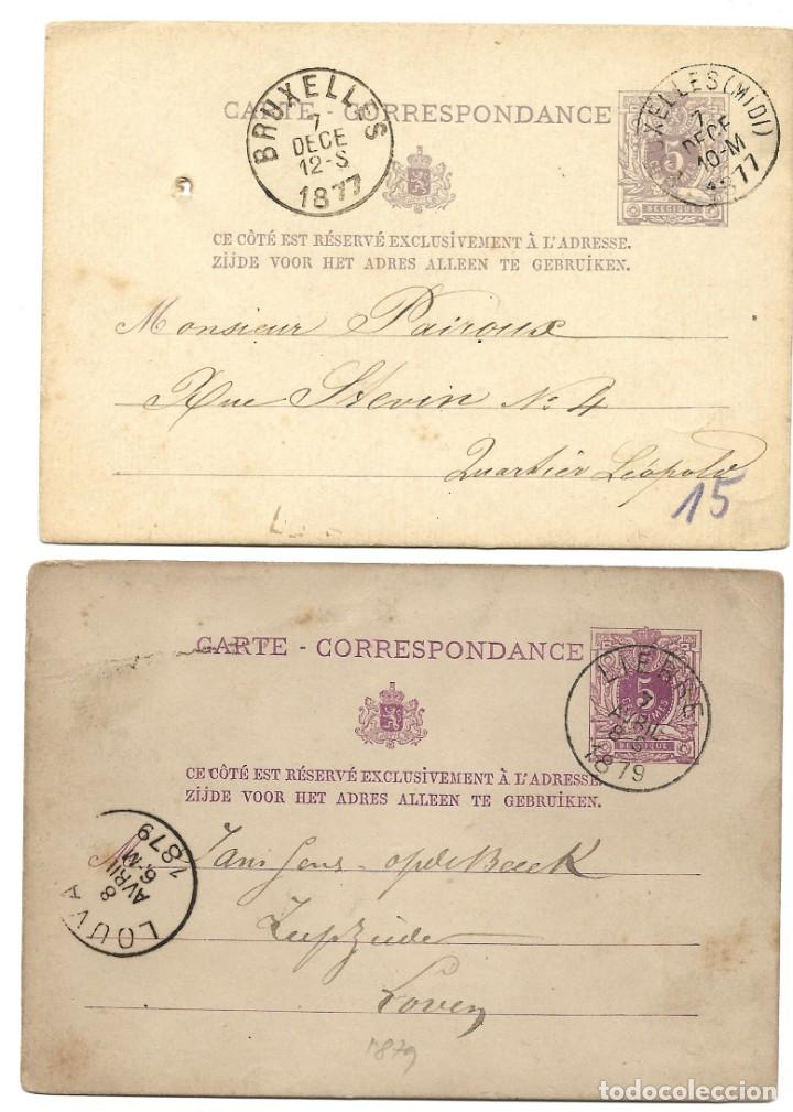 Sellos: INCREÍBLE ÁLBUM CON 135 ENTEROS POSTALES CIRCULADOS DE PAÍSES EUROPEOS DE 1877 HASTA PRINC. SIGLO XX - Foto 34 - 190057928