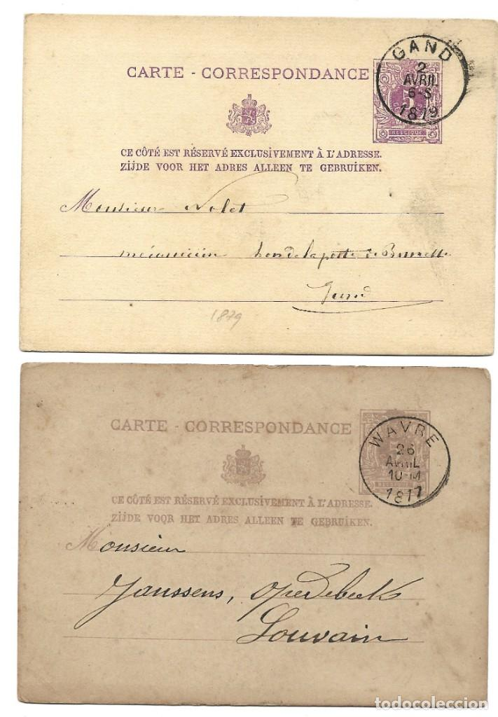 Sellos: INCREÍBLE ÁLBUM CON 135 ENTEROS POSTALES CIRCULADOS DE PAÍSES EUROPEOS DE 1877 HASTA PRINC. SIGLO XX - Foto 35 - 190057928