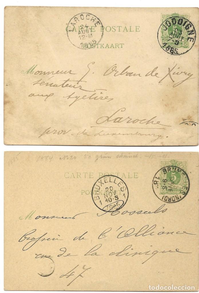Sellos: INCREÍBLE ÁLBUM CON 135 ENTEROS POSTALES CIRCULADOS DE PAÍSES EUROPEOS DE 1877 HASTA PRINC. SIGLO XX - Foto 36 - 190057928