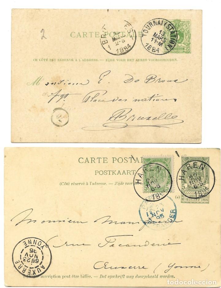 Sellos: INCREÍBLE ÁLBUM CON 135 ENTEROS POSTALES CIRCULADOS DE PAÍSES EUROPEOS DE 1877 HASTA PRINC. SIGLO XX - Foto 37 - 190057928