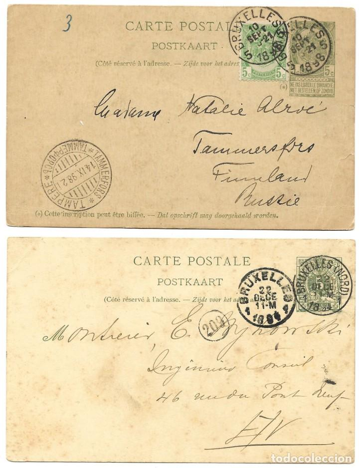 Sellos: INCREÍBLE ÁLBUM CON 135 ENTEROS POSTALES CIRCULADOS DE PAÍSES EUROPEOS DE 1877 HASTA PRINC. SIGLO XX - Foto 39 - 190057928