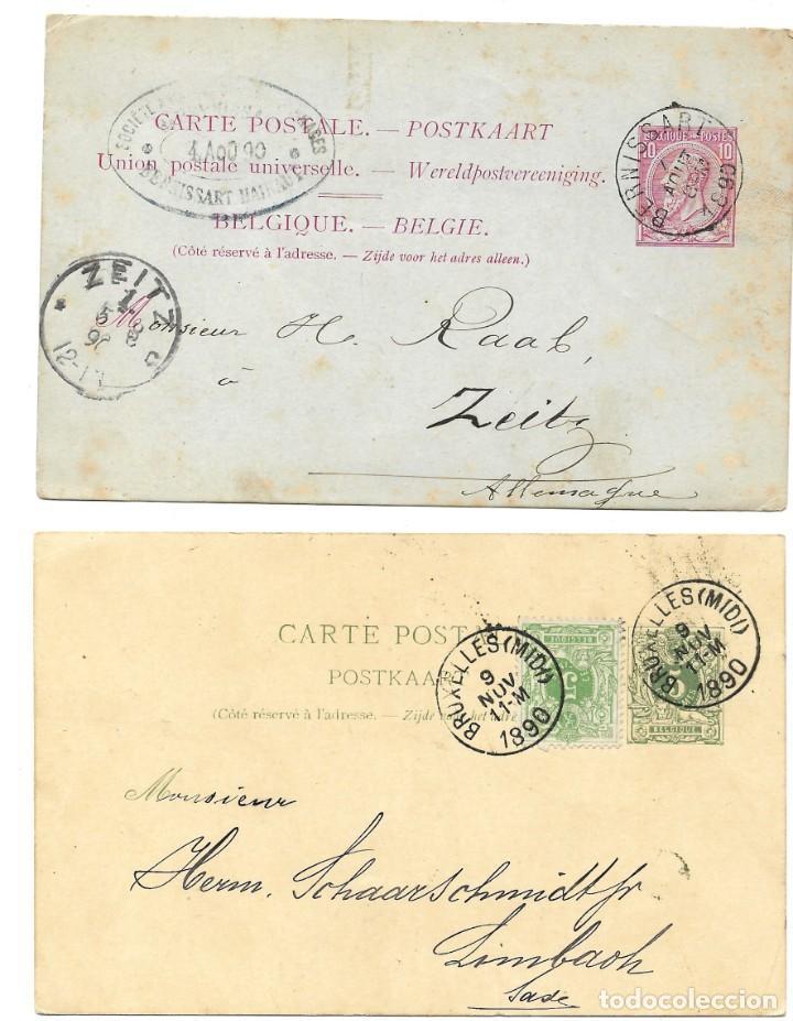 Sellos: INCREÍBLE ÁLBUM CON 135 ENTEROS POSTALES CIRCULADOS DE PAÍSES EUROPEOS DE 1877 HASTA PRINC. SIGLO XX - Foto 40 - 190057928