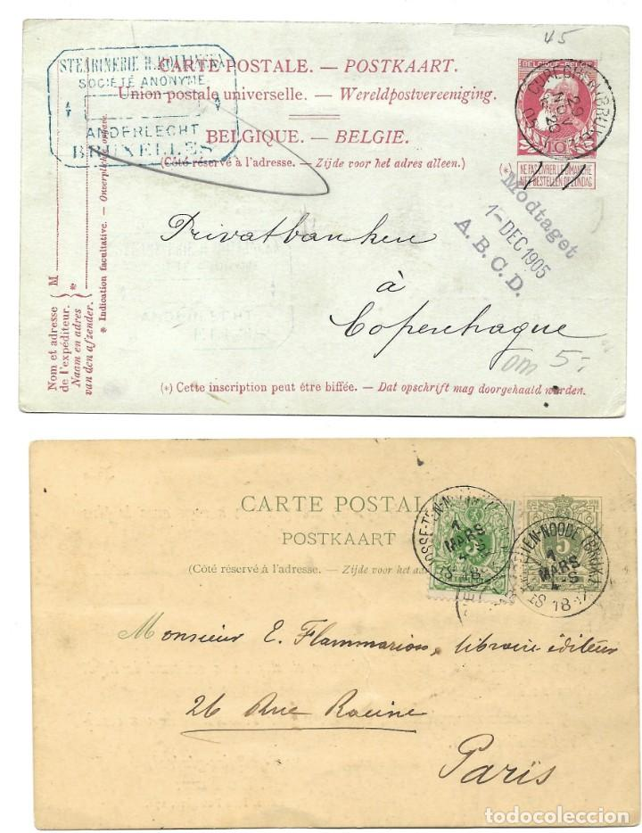 Sellos: INCREÍBLE ÁLBUM CON 135 ENTEROS POSTALES CIRCULADOS DE PAÍSES EUROPEOS DE 1877 HASTA PRINC. SIGLO XX - Foto 41 - 190057928