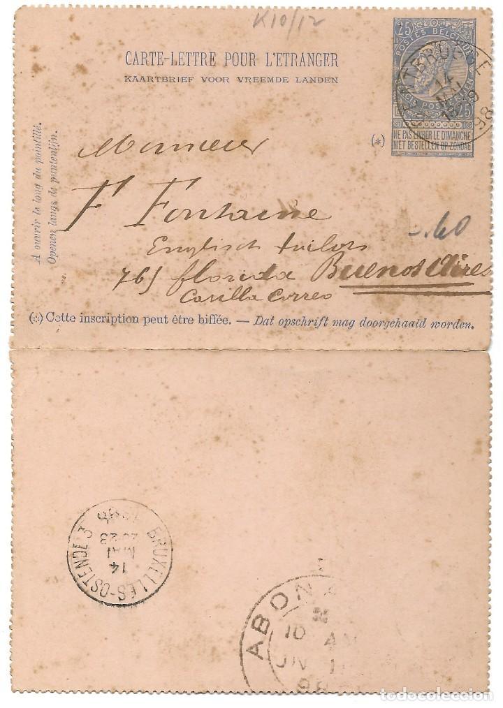 Sellos: INCREÍBLE ÁLBUM CON 135 ENTEROS POSTALES CIRCULADOS DE PAÍSES EUROPEOS DE 1877 HASTA PRINC. SIGLO XX - Foto 43 - 190057928