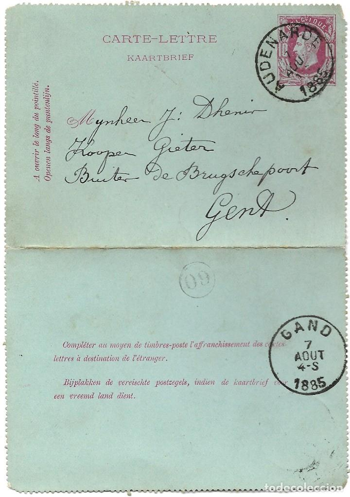 Sellos: INCREÍBLE ÁLBUM CON 135 ENTEROS POSTALES CIRCULADOS DE PAÍSES EUROPEOS DE 1877 HASTA PRINC. SIGLO XX - Foto 46 - 190057928