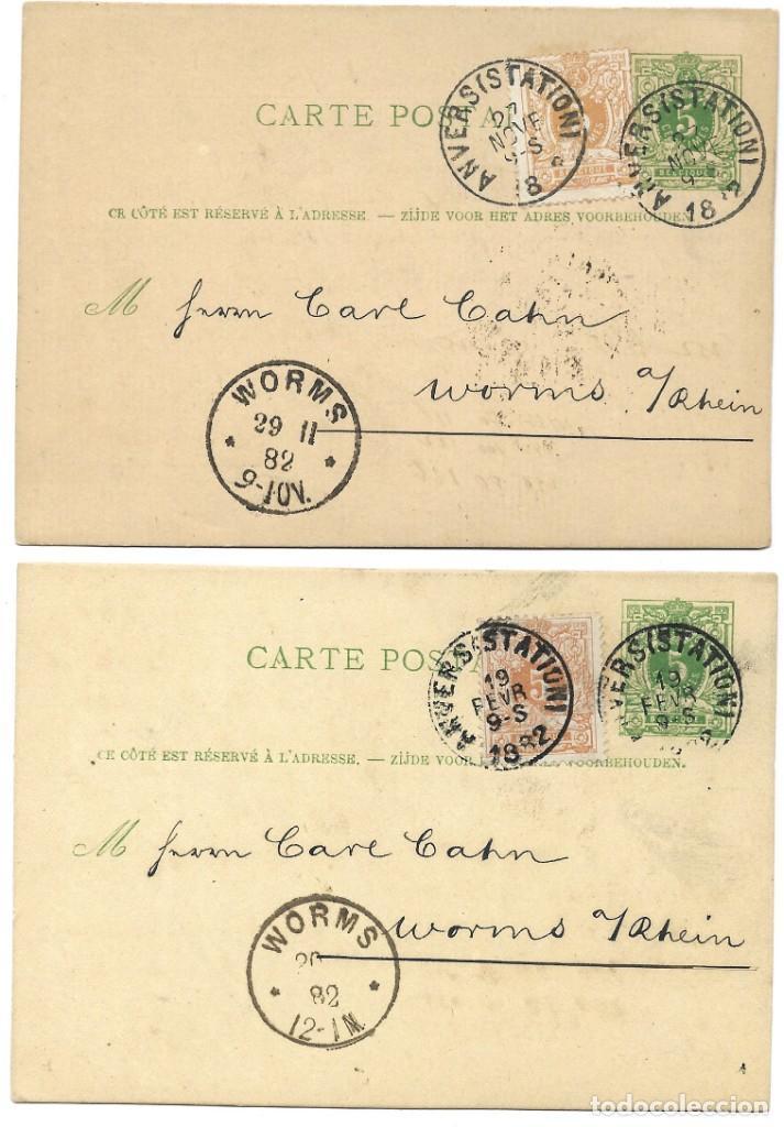 Sellos: INCREÍBLE ÁLBUM CON 135 ENTEROS POSTALES CIRCULADOS DE PAÍSES EUROPEOS DE 1877 HASTA PRINC. SIGLO XX - Foto 47 - 190057928