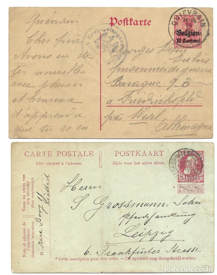 Sellos: INCREÍBLE ÁLBUM CON 135 ENTEROS POSTALES CIRCULADOS DE PAÍSES EUROPEOS DE 1877 HASTA PRINC. SIGLO XX - Foto 49 - 190057928