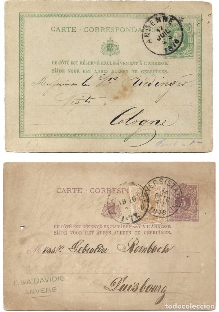 Sellos: INCREÍBLE ÁLBUM CON 135 ENTEROS POSTALES CIRCULADOS DE PAÍSES EUROPEOS DE 1877 HASTA PRINC. SIGLO XX - Foto 50 - 190057928