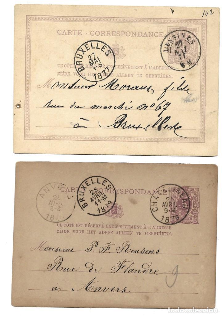 Sellos: INCREÍBLE ÁLBUM CON 135 ENTEROS POSTALES CIRCULADOS DE PAÍSES EUROPEOS DE 1877 HASTA PRINC. SIGLO XX - Foto 51 - 190057928