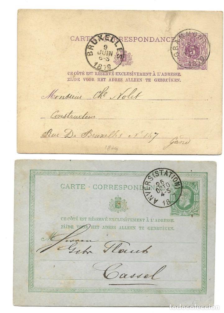 Sellos: INCREÍBLE ÁLBUM CON 135 ENTEROS POSTALES CIRCULADOS DE PAÍSES EUROPEOS DE 1877 HASTA PRINC. SIGLO XX - Foto 52 - 190057928