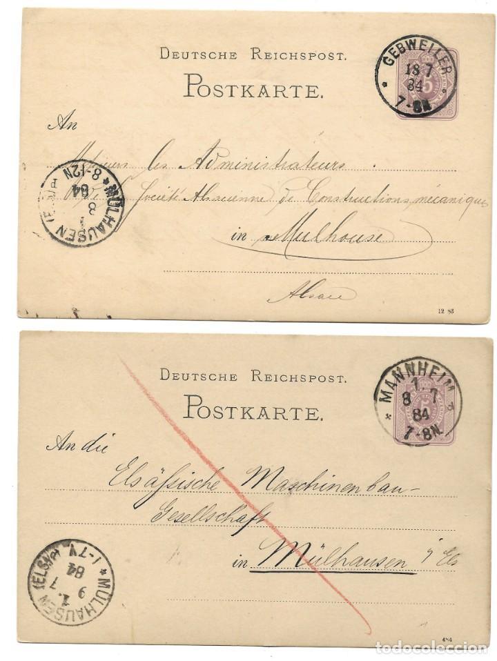 Sellos: INCREÍBLE ÁLBUM CON 135 ENTEROS POSTALES CIRCULADOS DE PAÍSES EUROPEOS DE 1877 HASTA PRINC. SIGLO XX - Foto 63 - 190057928