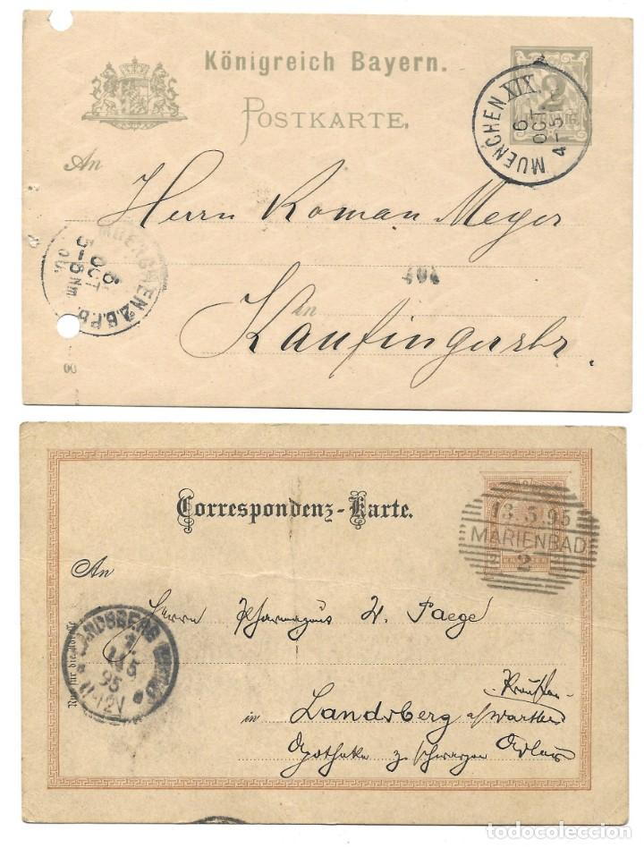 Sellos: INCREÍBLE ÁLBUM CON 135 ENTEROS POSTALES CIRCULADOS DE PAÍSES EUROPEOS DE 1877 HASTA PRINC. SIGLO XX - Foto 65 - 190057928