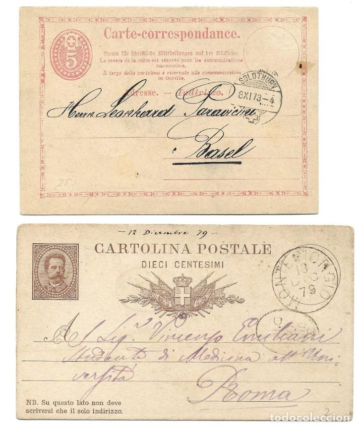 Sellos: INCREÍBLE ÁLBUM CON 135 ENTEROS POSTALES CIRCULADOS DE PAÍSES EUROPEOS DE 1877 HASTA PRINC. SIGLO XX - Foto 68 - 190057928