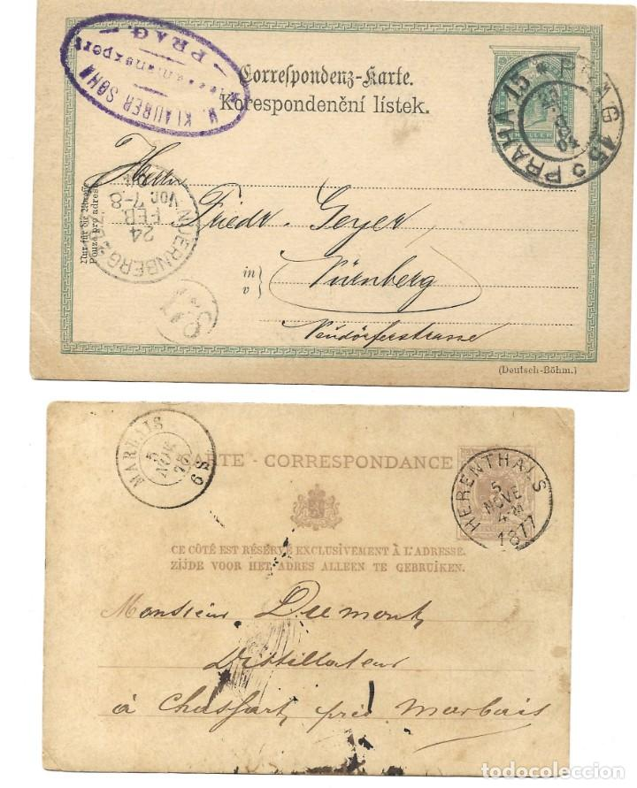 Sellos: INCREÍBLE ÁLBUM CON 135 ENTEROS POSTALES CIRCULADOS DE PAÍSES EUROPEOS DE 1877 HASTA PRINC. SIGLO XX - Foto 69 - 190057928
