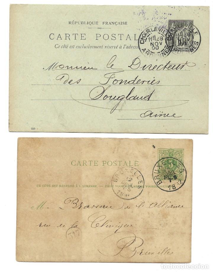 Sellos: INCREÍBLE ÁLBUM CON 135 ENTEROS POSTALES CIRCULADOS DE PAÍSES EUROPEOS DE 1877 HASTA PRINC. SIGLO XX - Foto 70 - 190057928