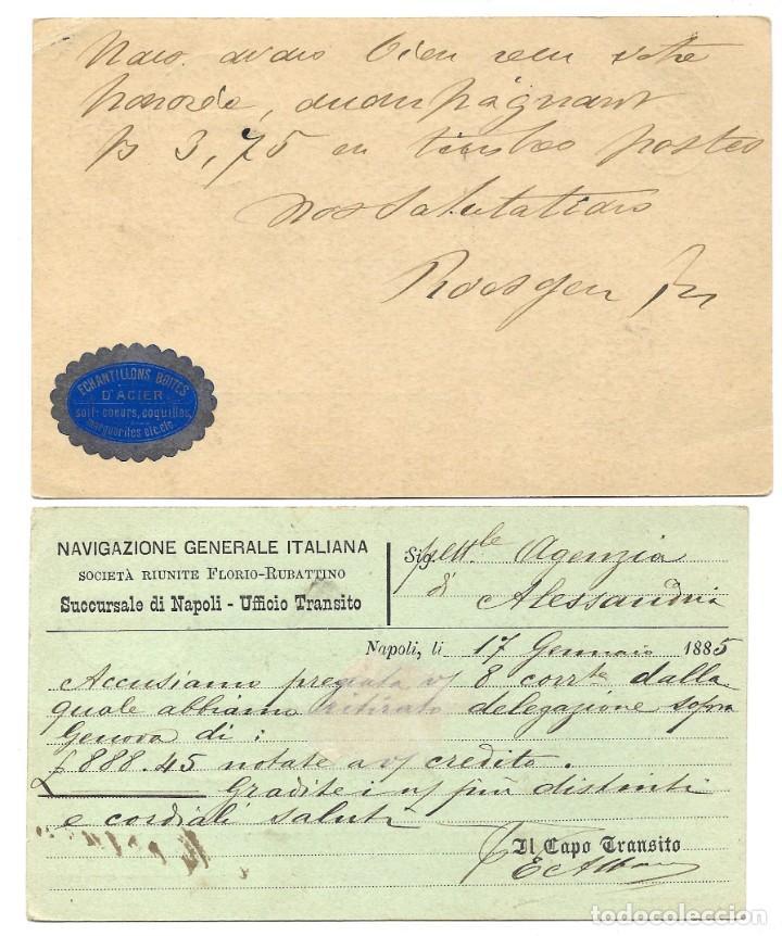 Sellos: INCREÍBLE ÁLBUM CON 135 ENTEROS POSTALES CIRCULADOS DE PAÍSES EUROPEOS DE 1877 HASTA PRINC. SIGLO XX - Foto 75 - 190057928