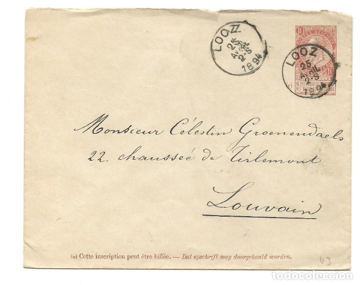 Sellos: INCREÍBLE ÁLBUM CON 135 ENTEROS POSTALES CIRCULADOS DE PAÍSES EUROPEOS DE 1877 HASTA PRINC. SIGLO XX - Foto 80 - 190057928