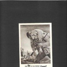 Sellos: ALEMANIA IMPERIO TARJETA PATRIOTICA 1945. Lote 190693101